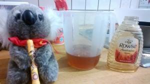 The Koala channels the spirit of Winnie The Pooh.